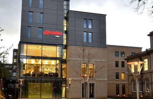 Glass Replacement at York Offices for Shepherd FM