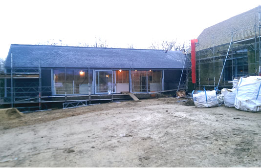 Crusis Barn, House Extension Project Completed