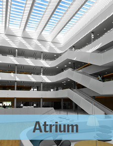 Atrium - Glass Rooflights