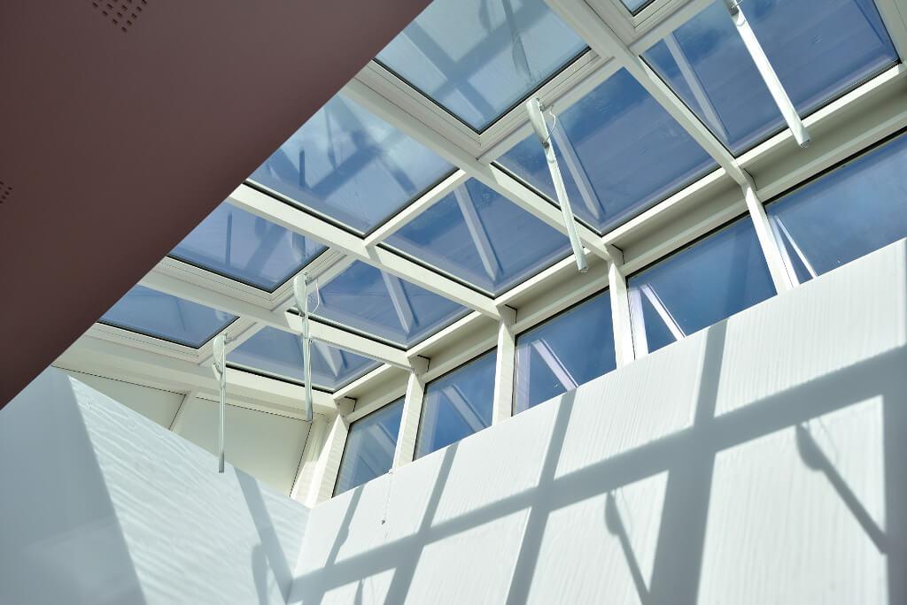 Velux modular skylight vms dortech maintenance for Cleaning velux skylights