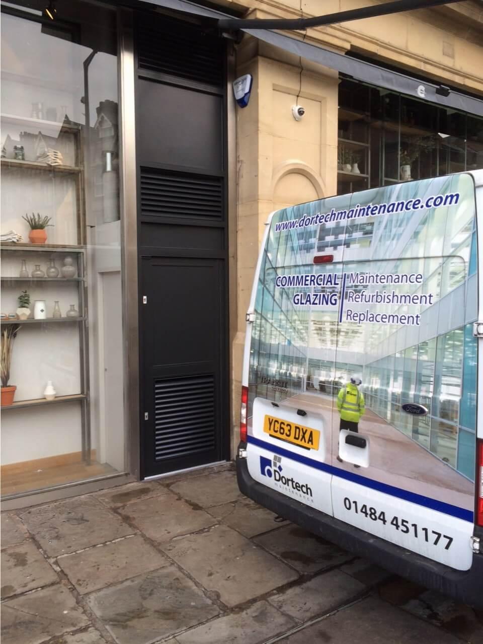 Manchester Corn Exchange - New Door