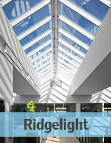 Ridgelight - Glass Rooflights