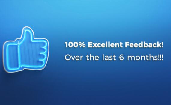 100% Feedback