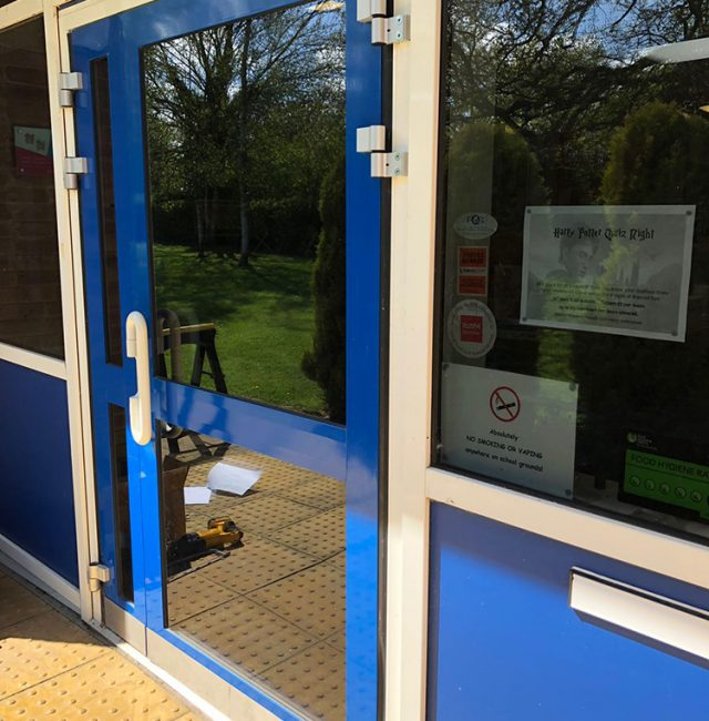 Barby School – Rugby – Door Maintenance