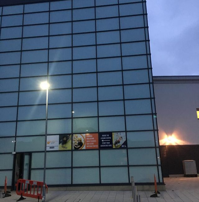 Kirklees Leisure Centre – Huddersfield – Glazing Replacement