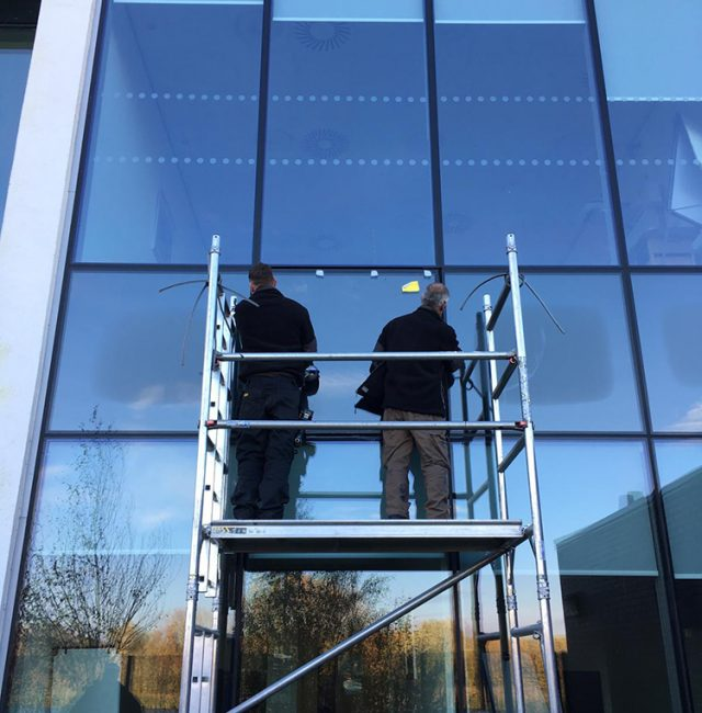 West Yorkshire Police SSU, Wakefield – Glazing Replacement