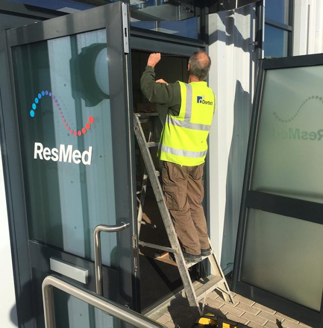 Zephyr Building – Birmingham – Door Maintenance