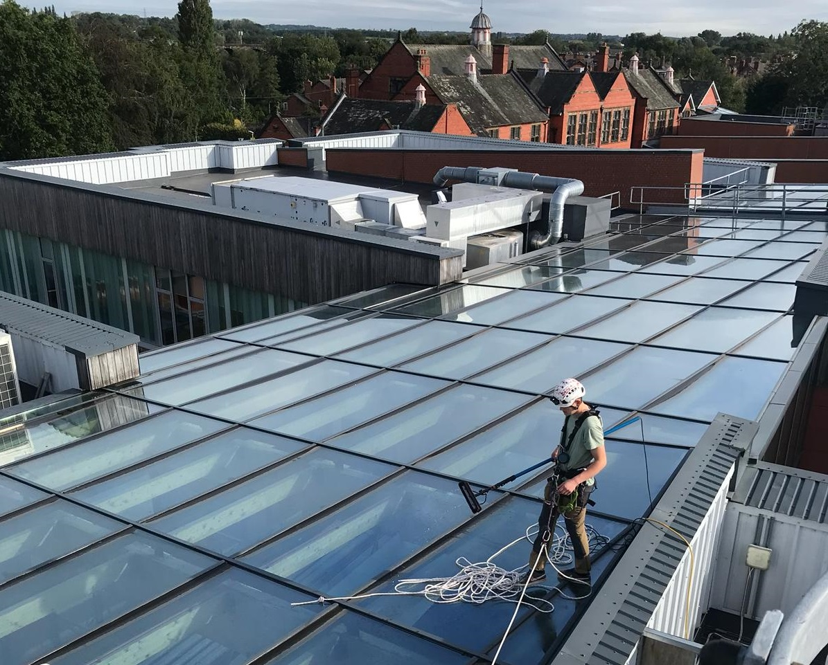 Façade and glazing maintenance in education during COVID-19